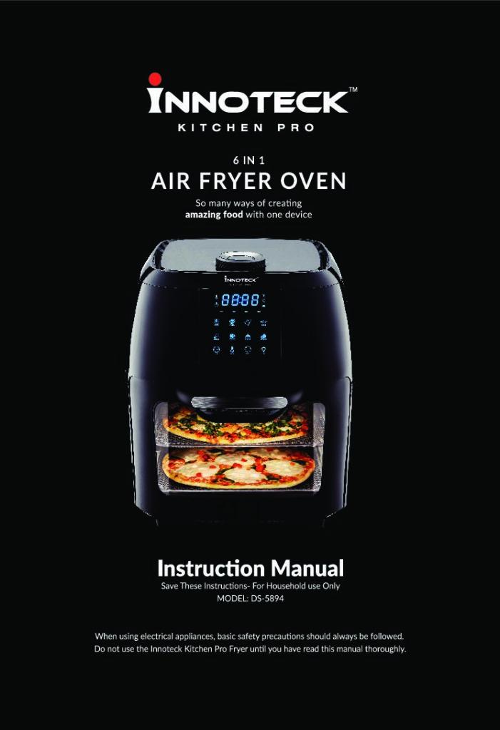 air fryer instructions
