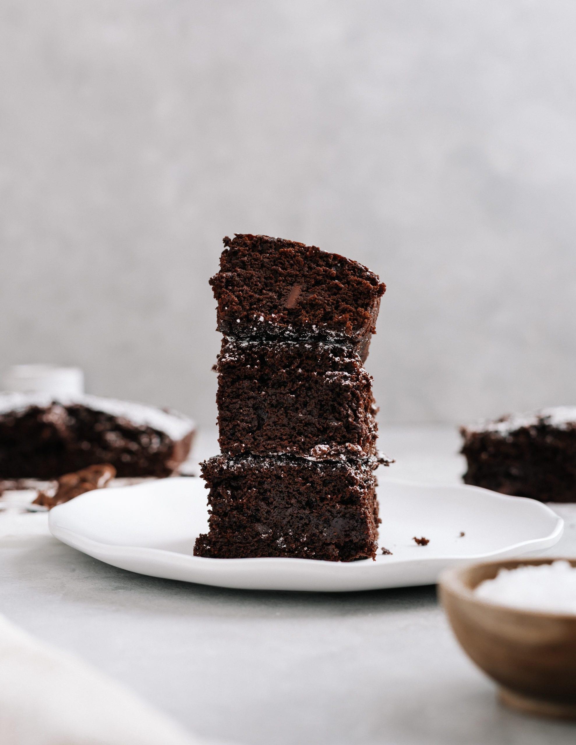 Simple air fryer chocolate brownies